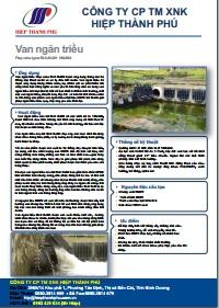 Tài liệu kỹ thuật van ngăn triều Flap valve type RLK R-O